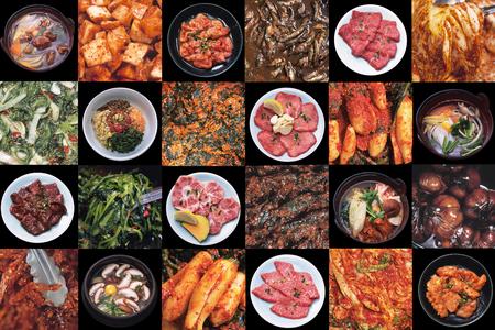 Korea voedsel Stockfoto
