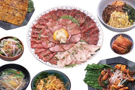 ethnic mix: Korea food