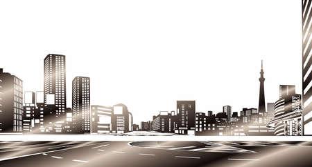 points of interest: City buildings