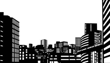 fanciful: City buildings
