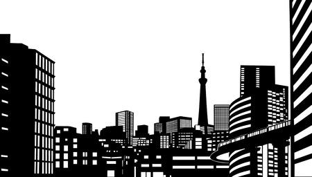 도시 건물