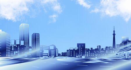 famous place: City buildings