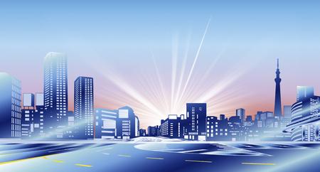 cg: City buildings