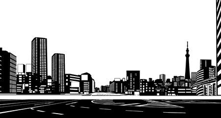 都市の建物 写真素材