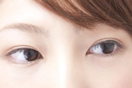 Around the eyes