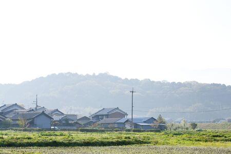 vacant lot: Heavenly Kagu Hill Stock Photo
