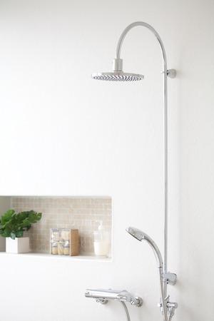 シャワー ルーム 写真素材