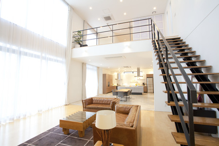 Wohnzimmer Standard-Bild