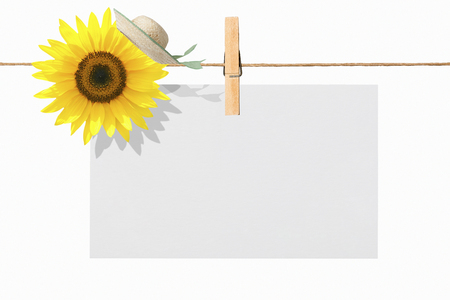 recess: Message card Stock Photo