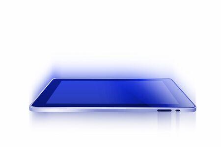 computer terminals: Tablet computer
