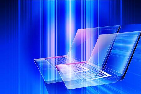 internet terminal: Laptop