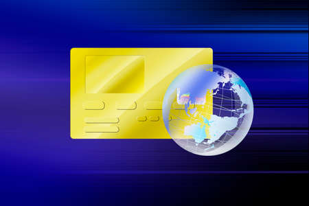 globalism: Credit card and the Earth