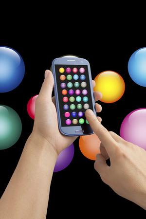 internet terminals: Smart phone