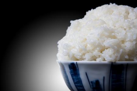 riso bianco: Large white rice Archivio Fotografico