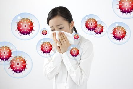 Chřipka Reklamní fotografie