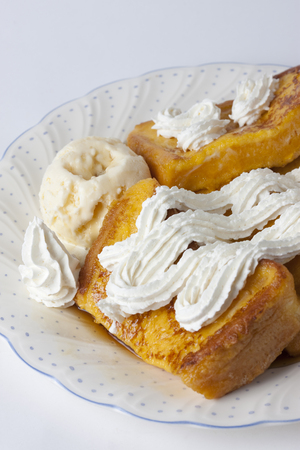 high calorie: French toast