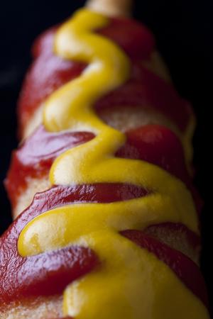 fatness: Corn Dog Stock Photo