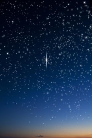 sterrenhemel: Sterrenhemel Stockfoto
