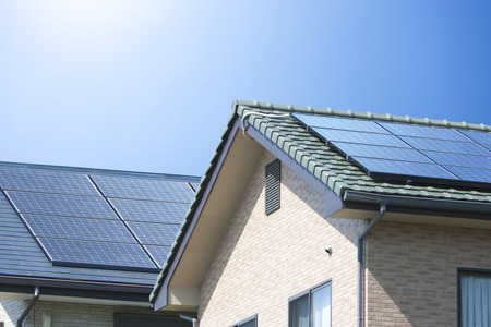 roofing system: Residential roof solar panels