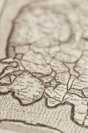 old world: Old world map Europe