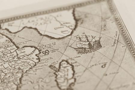올드 월드 맵 일본 스톡 콘텐츠