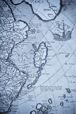 old world: Old world map Japan