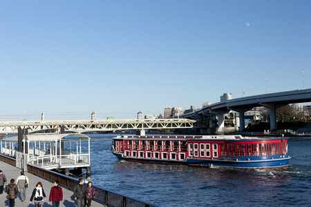 waterbus: Sumida Park and the water-bus