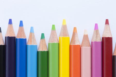 colored pencil: Colored pencil Stock Photo