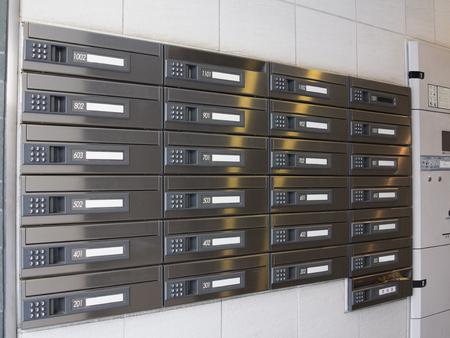 Mailbox apartment