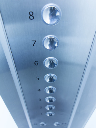 Push button of the elevator