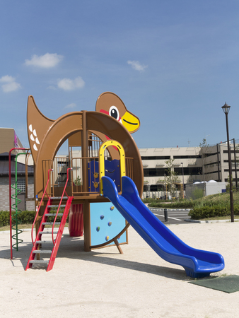 the equipment: Play equipment in parks