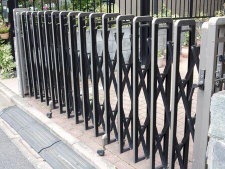 Garage gate of