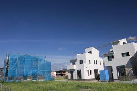 建設における新規住宅地 写真素材