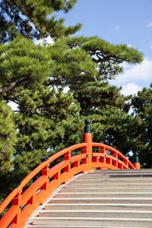 arcuate: Sumiyoshi Taisha arched bridge