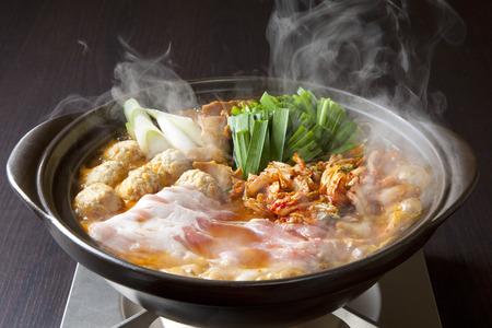 Kimchi NABE Stock Photo