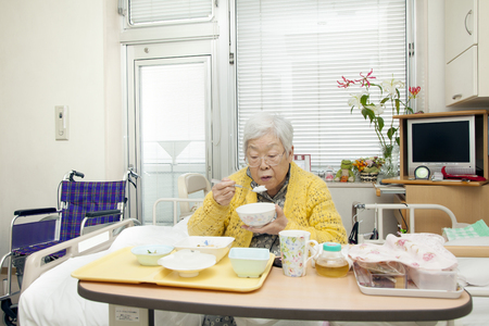 hospitalization: Grandma in the hospital