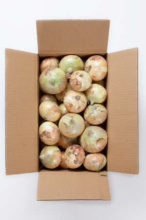 irregularity: New onion boxed