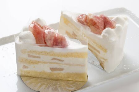 shortcake: Peach shortcake