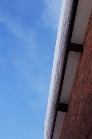 cornice: Cornice and blue sky