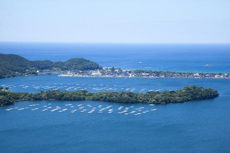 raft: Oyster raft of Kumihamawan