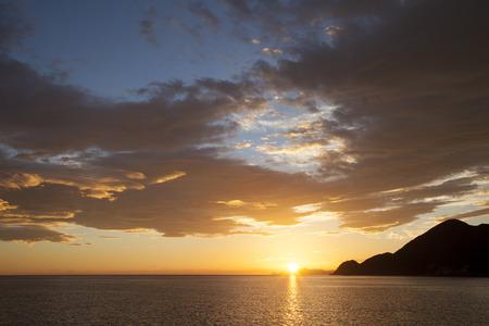 january sunrise: Takeno coast of Asahi