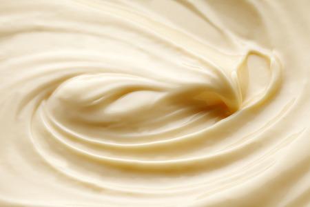 mayonesa: hacer mayonesa Foto de archivo