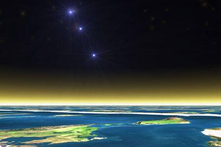 atmosphere: Nova and atmosphere