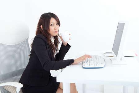 ol: OL doing desk work