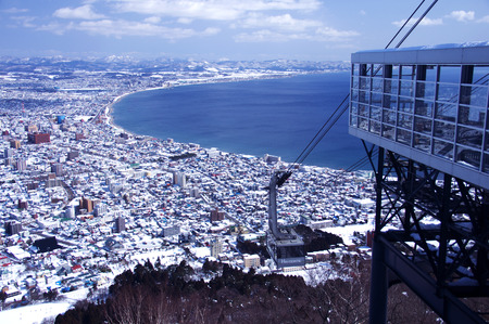 ropeway: The view from the ropeway summit