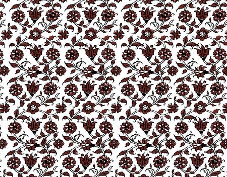 birthplace: Ethnic pattern pattern Stock Photo