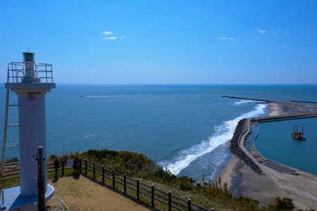 i hope: I hope Iioka Lighthouse and Iioka fishing port than observatory