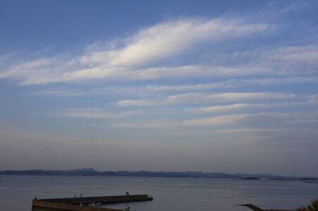 appeared: Sujikumo that appeared in Tokyo Bay sky