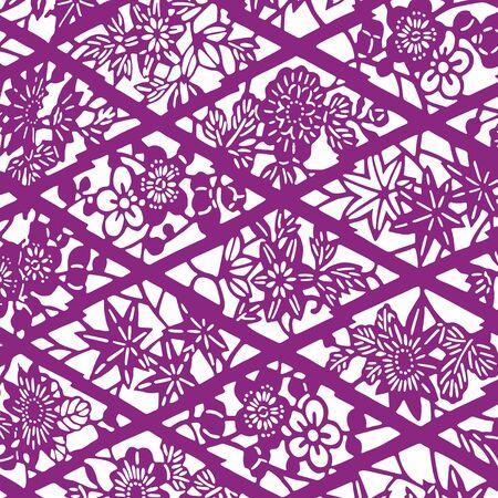 京商パターン パターン 写真素材 - 42888064