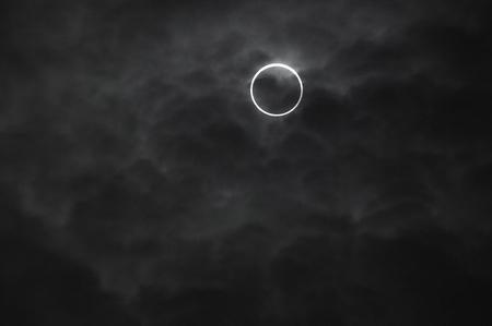 solar eclipse: The annular solar eclipse 07:38:53 nearly Center